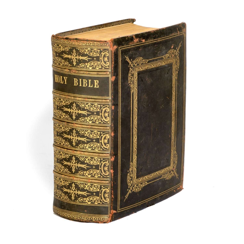 Henry's Bible - 19th Century authorised English bible