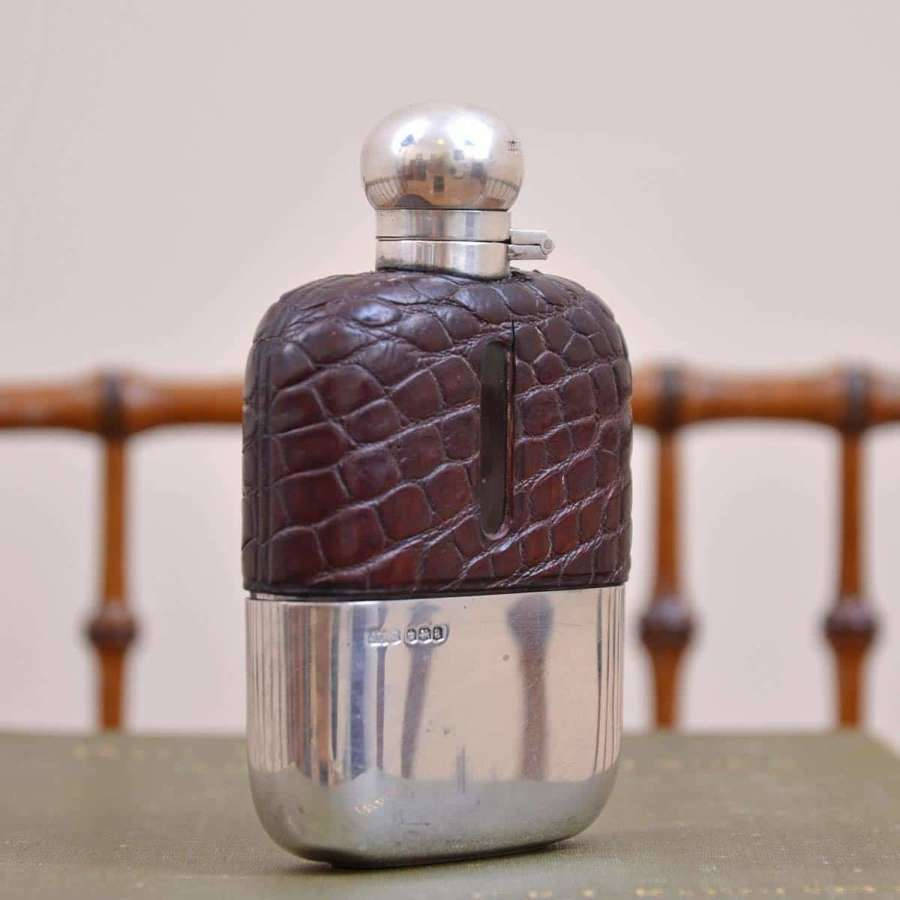 Silver Hip Flask