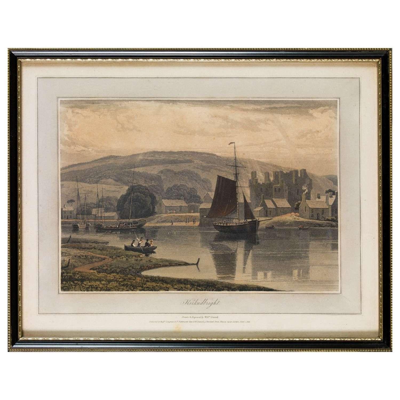 William Daniell aquatints of Kirkcudbrightshire