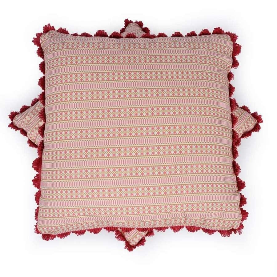 Handmade Charlotte Gaisford cushions
