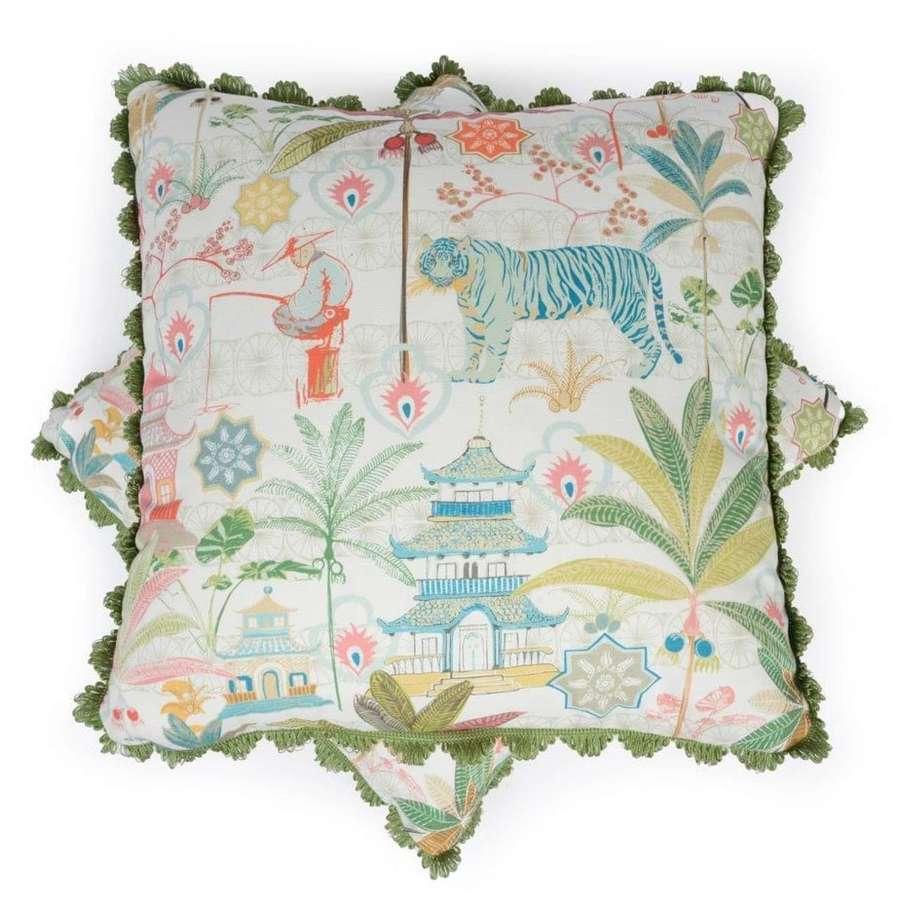 Charlotte Gaisford cushions - TigerBlue