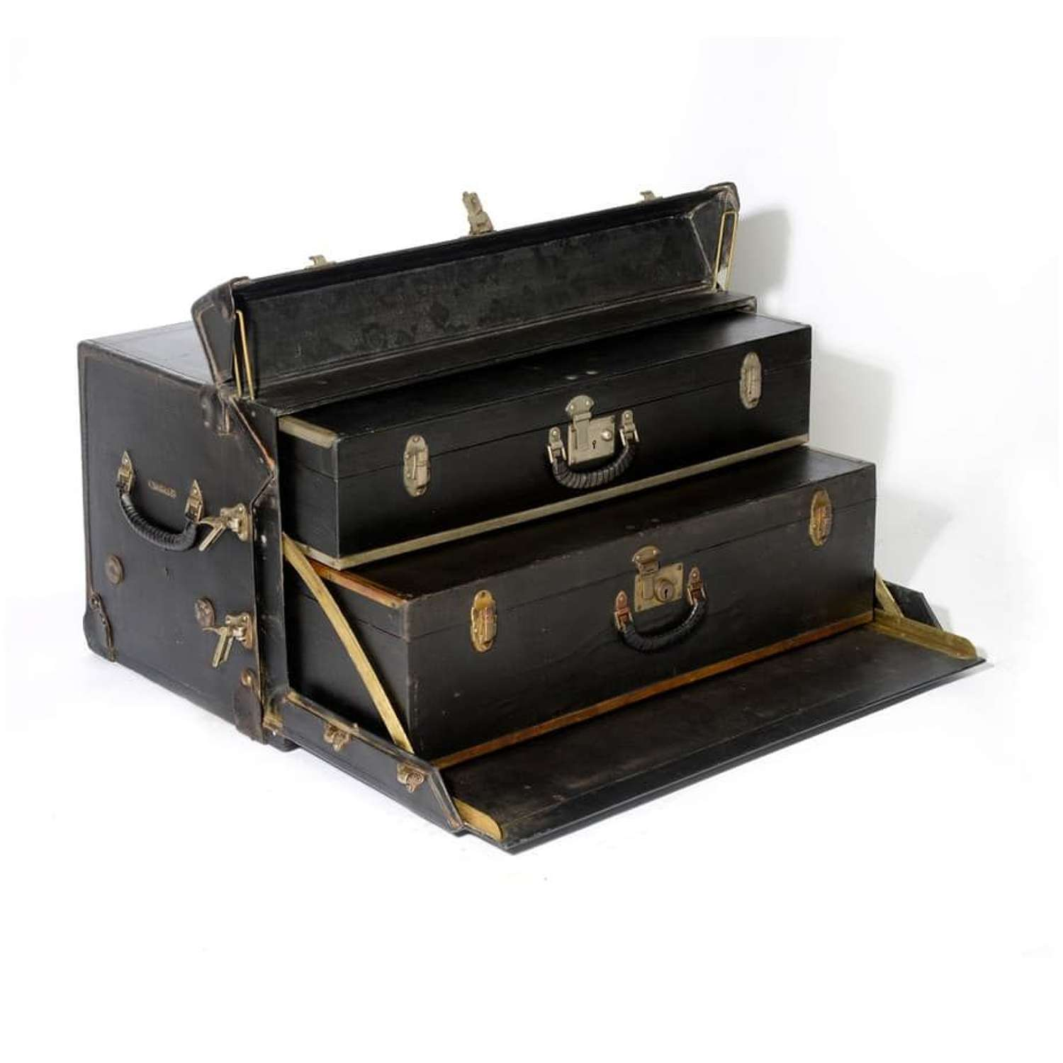 Motoring trunk - by J. B. Brooks and Co. of Birmingham