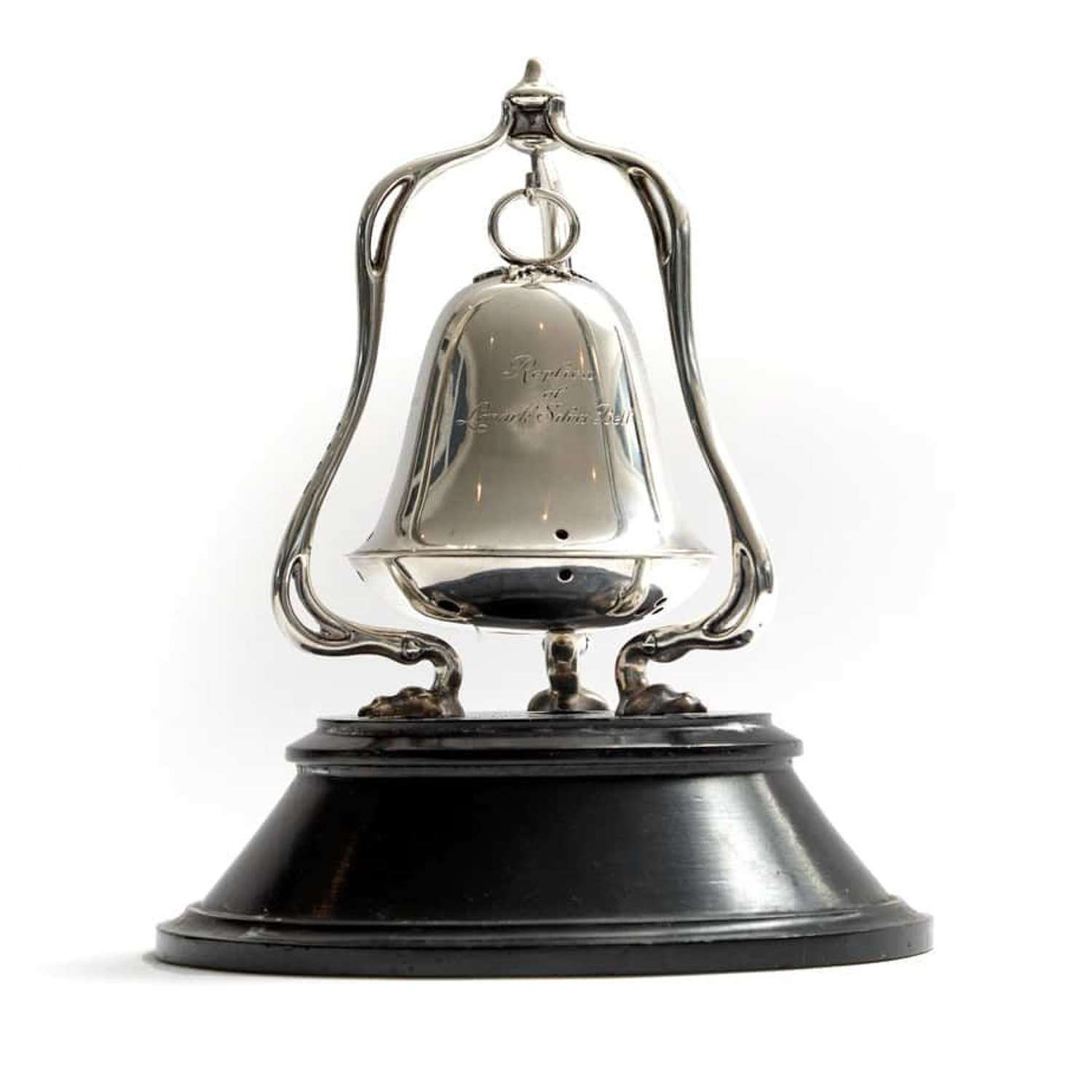 The Lanark Bell silver racing trophy - by Hamilton and Inches
