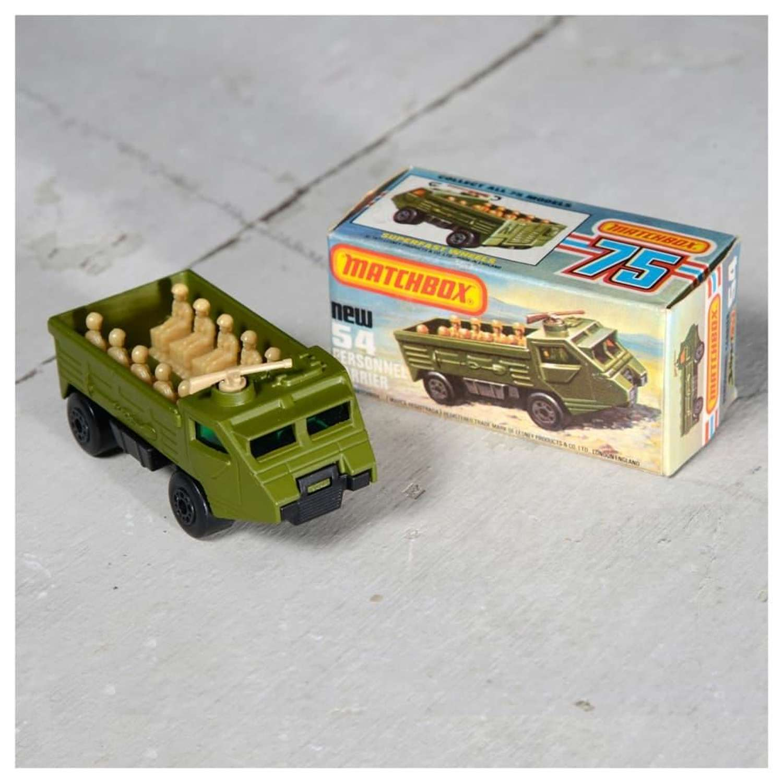Boxed Matchbox Personnel Carrier No 54