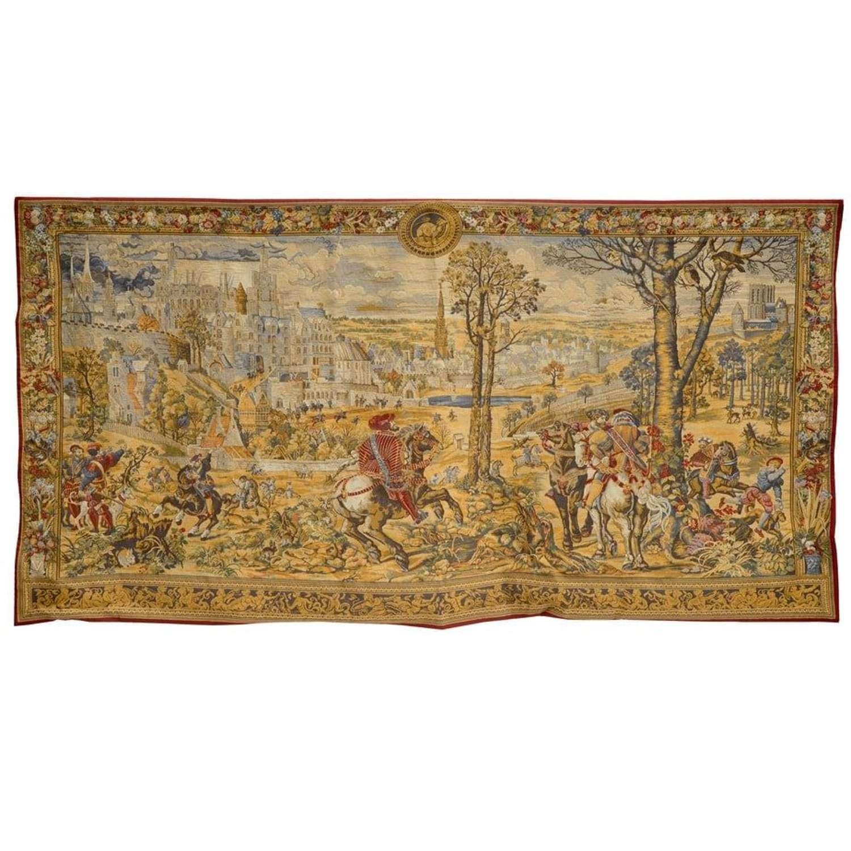 Tapestry - Hunts of the Emperor Maximilian