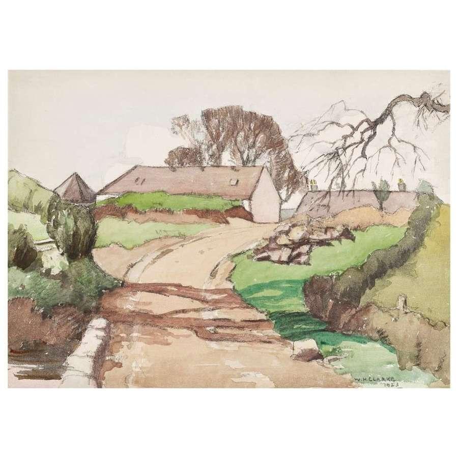 Wiliam Hanna Clarke  - A Galloway Farm