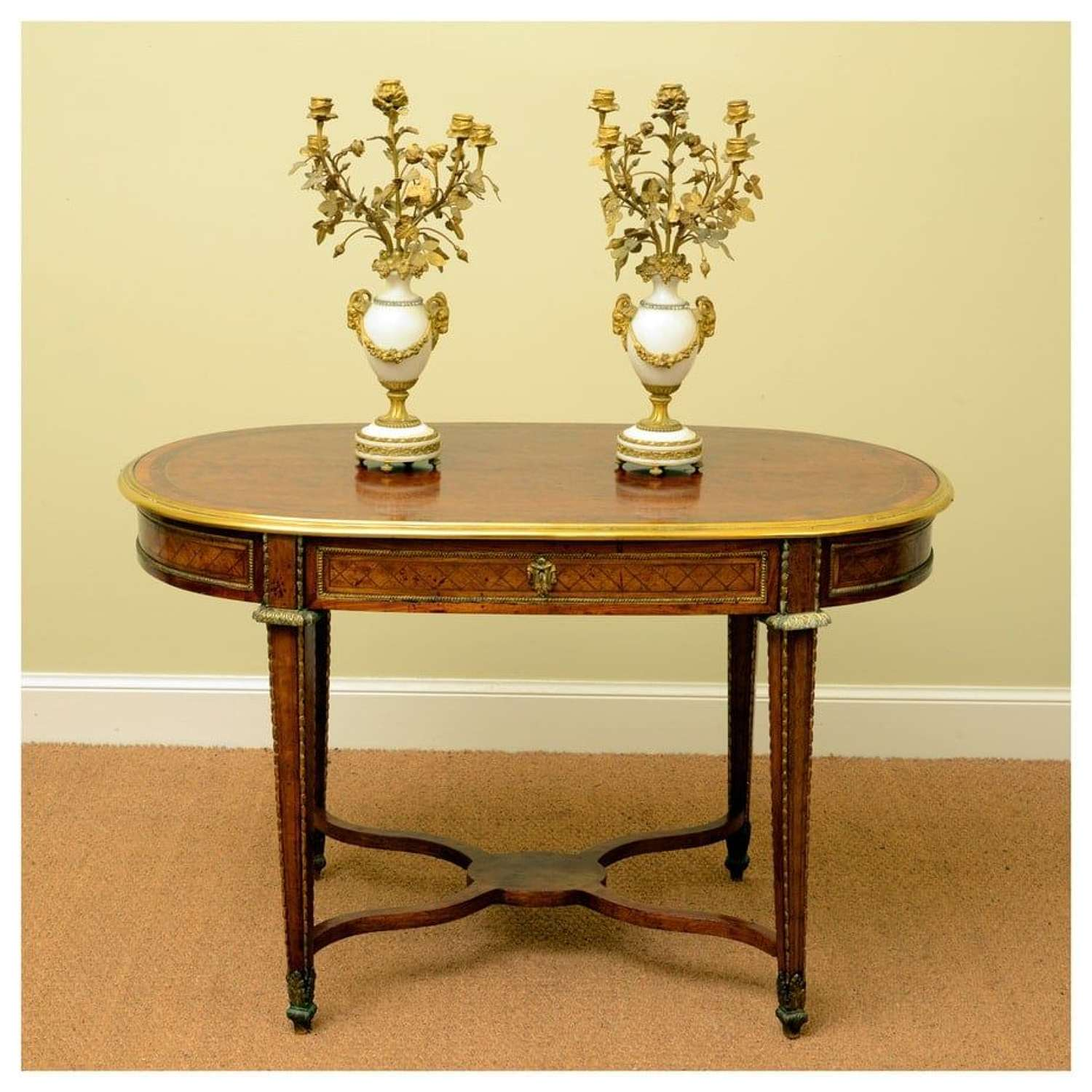 Continental centre table in the Louis XVI style