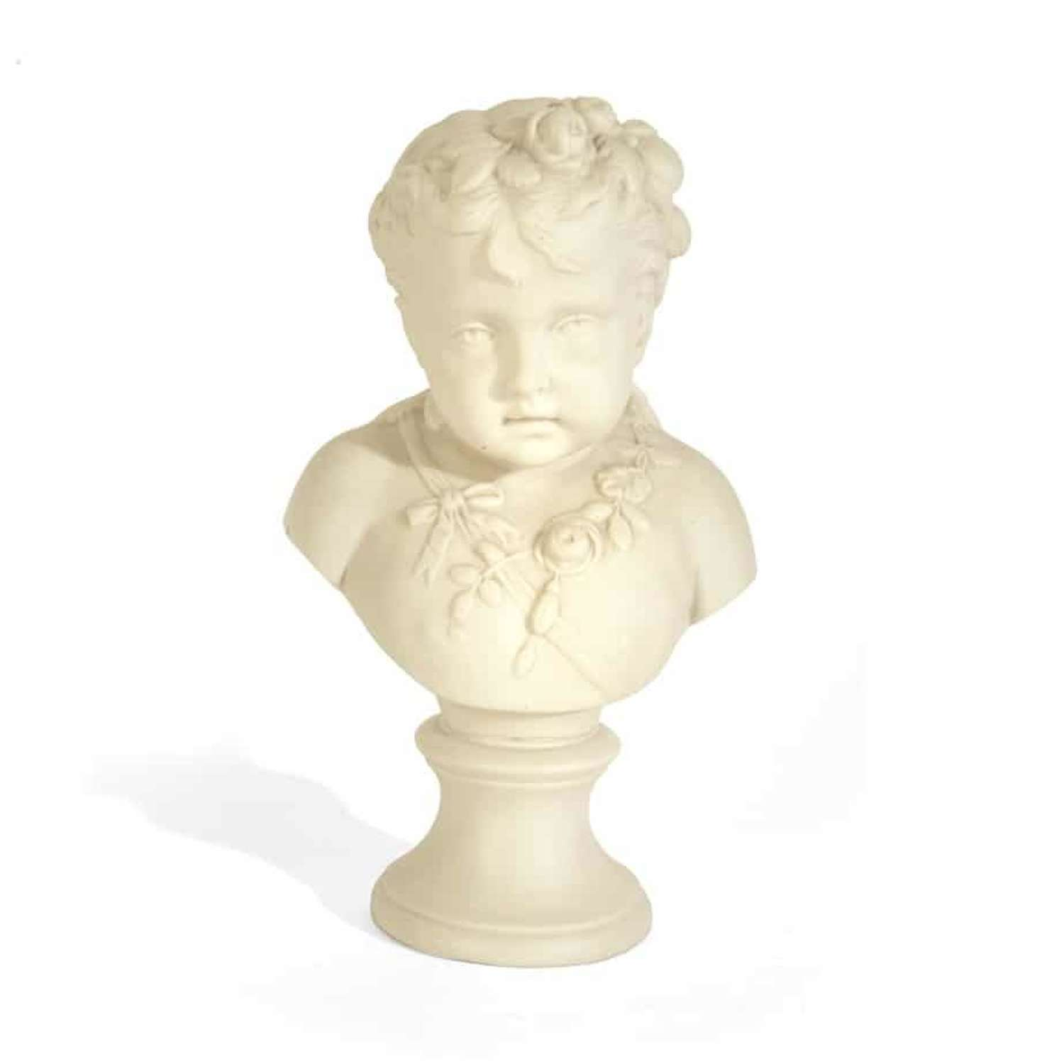 The Personification of Spring - Parian Ware bust