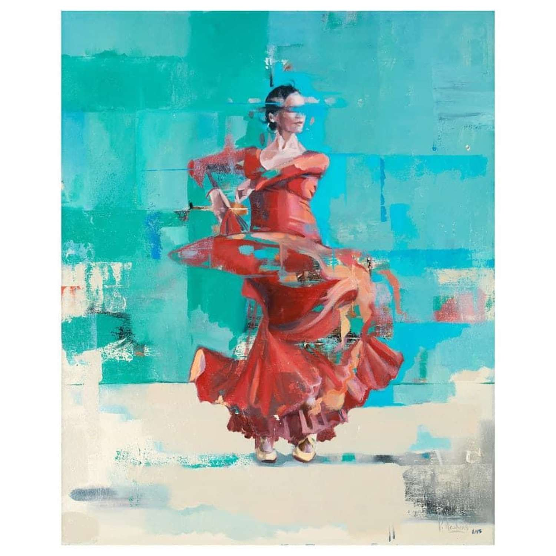 Pete Hawkins - Red Flamenco