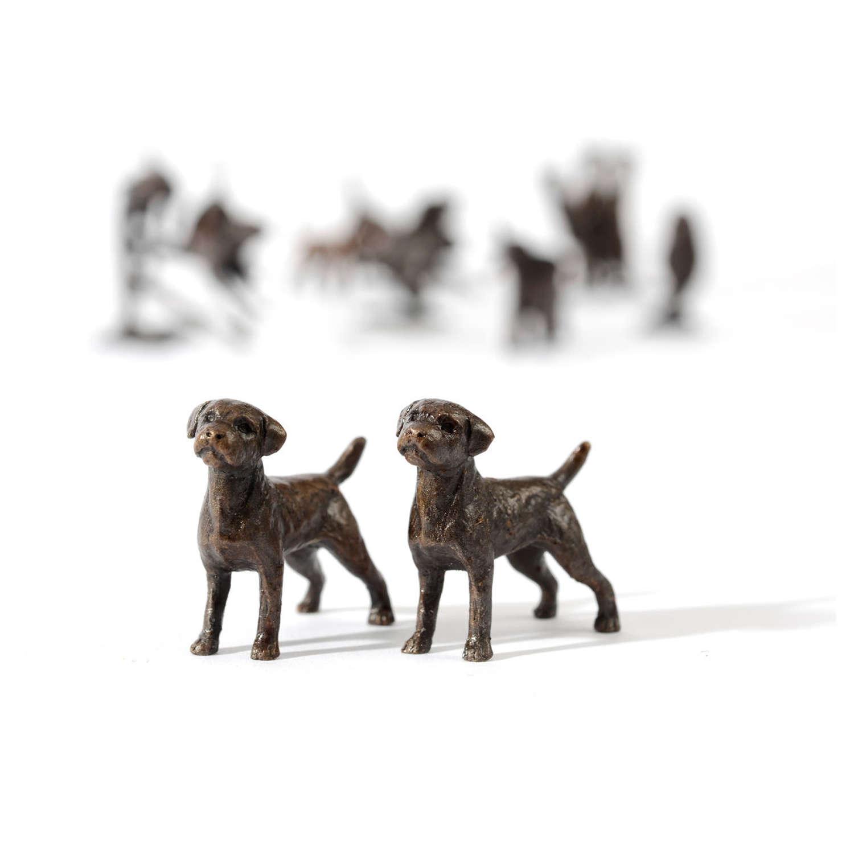 Butler & Peach Miniature Bronze Border Terrier