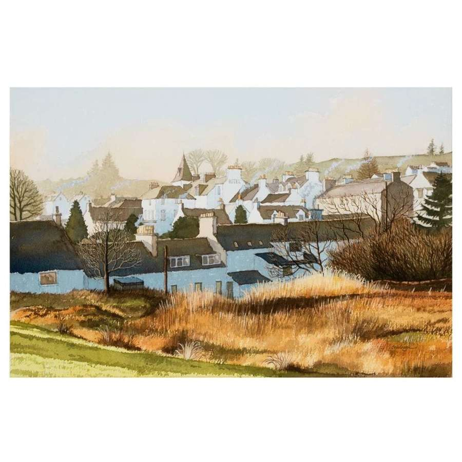 Frank Colclough - Autumn Mists- New Galloway