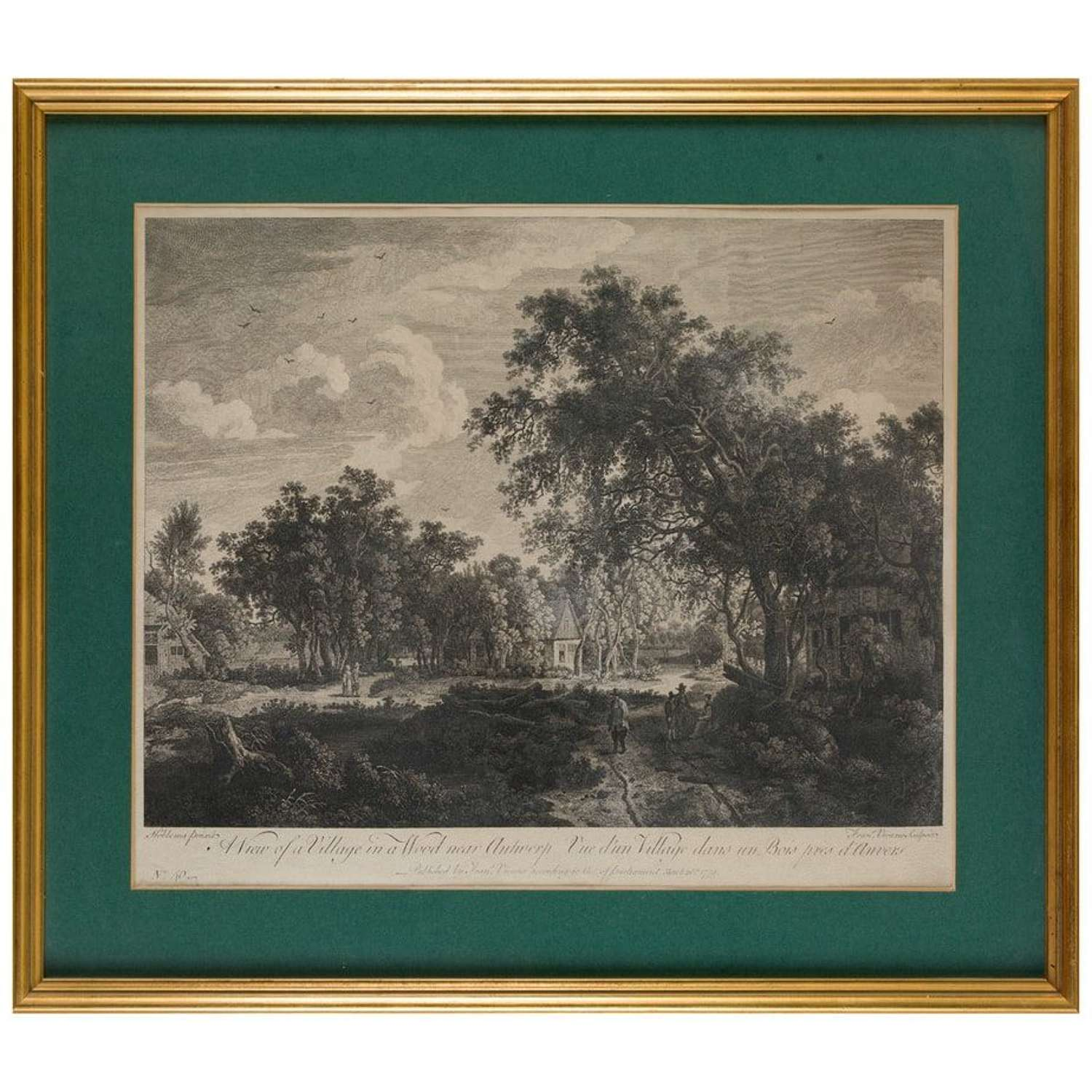 3 Engravings by Thomas Gainsbrough & George Smith