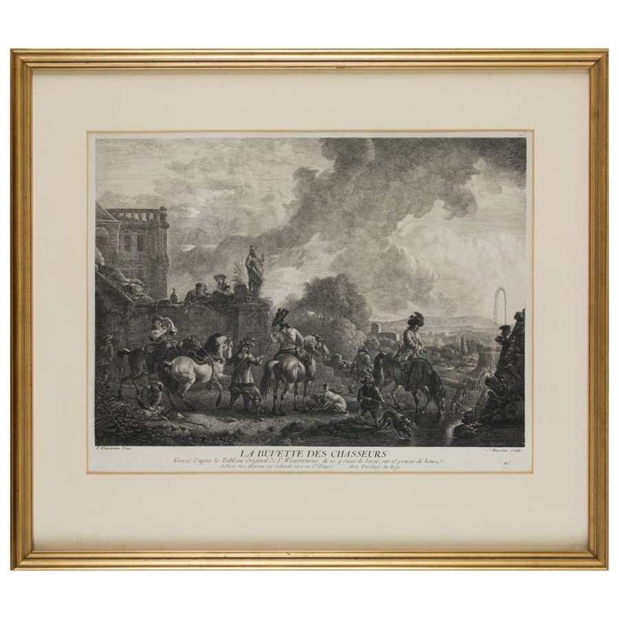 3 Engravings by Philips Wouvermens