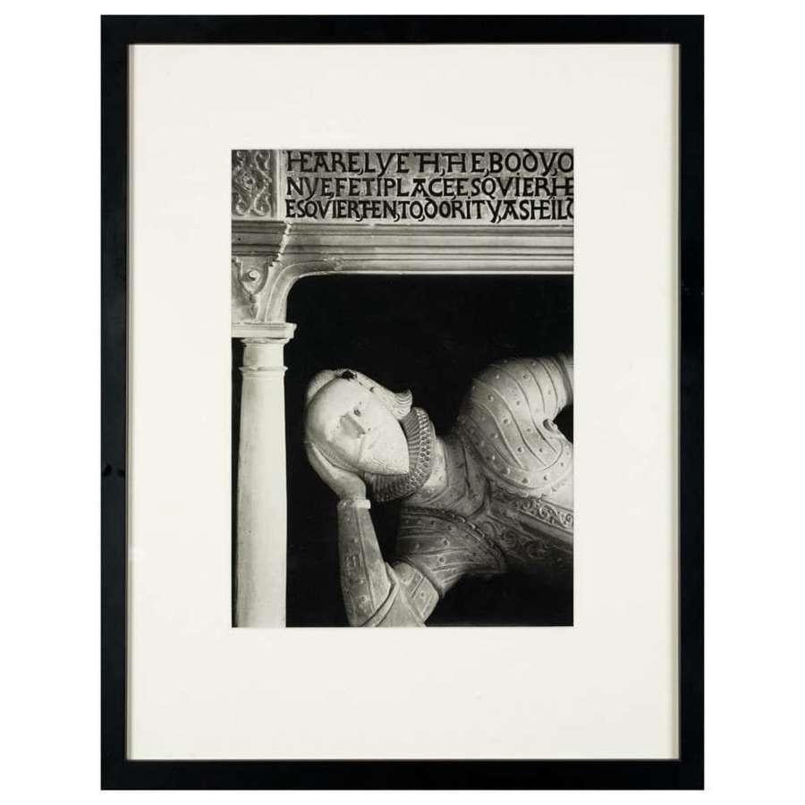 Edwin Smith, The Tomb of Fettiplace, Swinbrook, Whittington Press