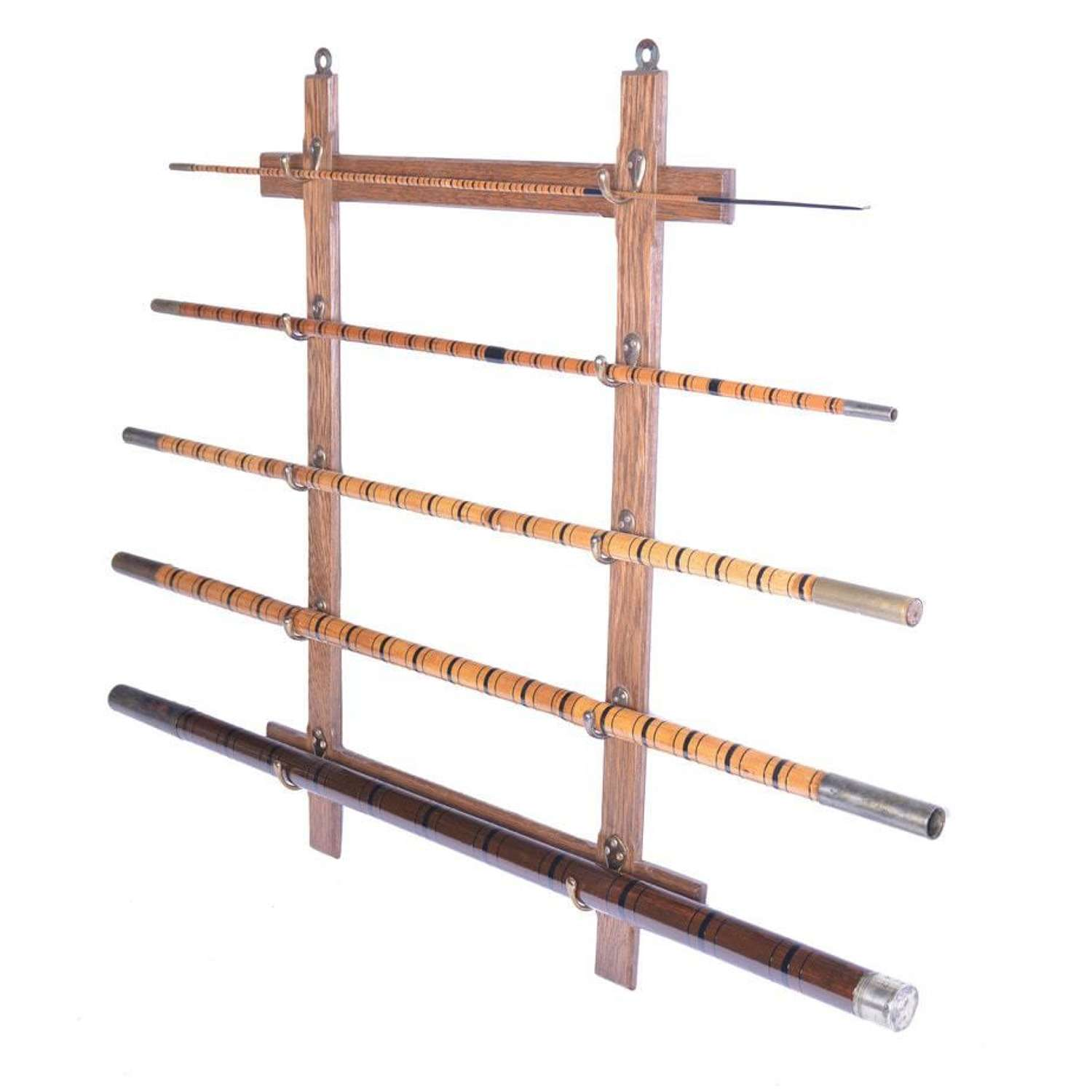 19th Century bamboo fishing rod or roach pole - by Sowerbutts