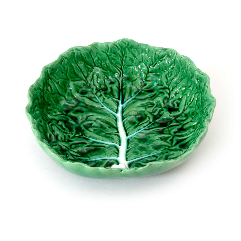 Portuguese cabbage leaf bowl