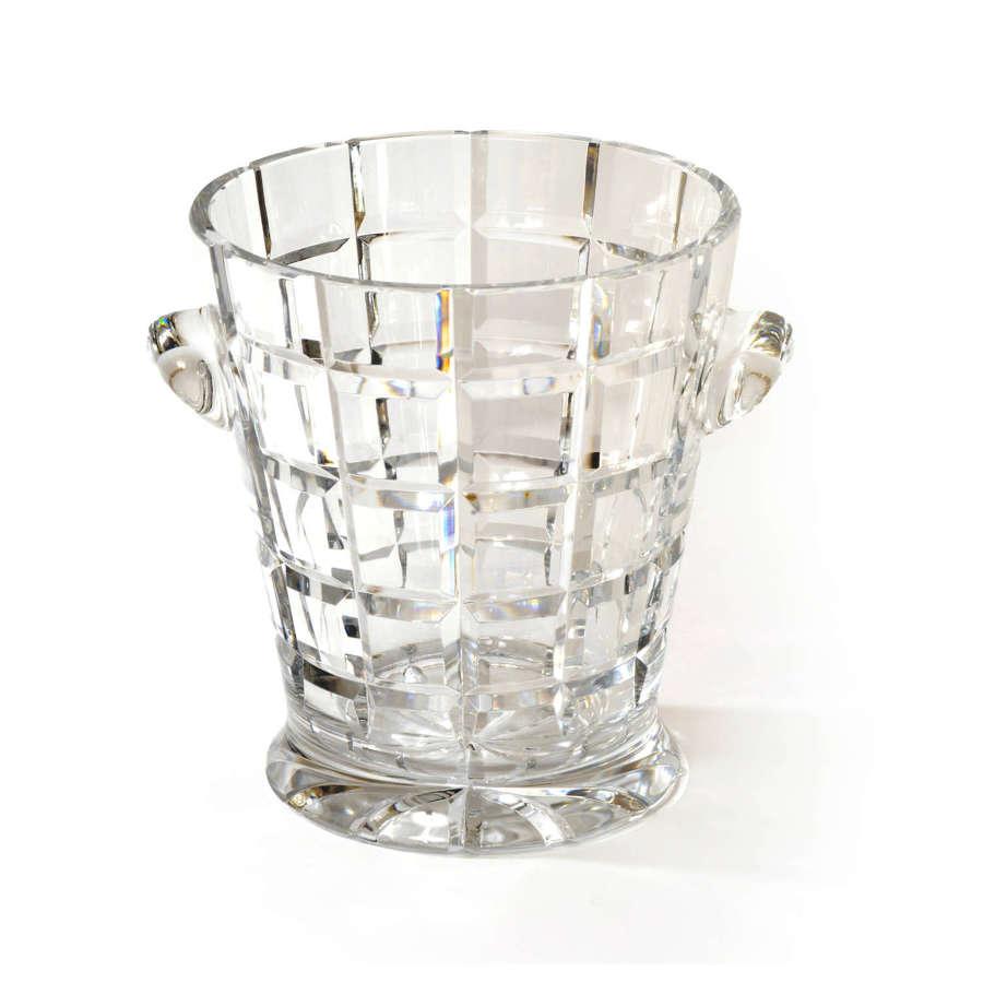 William Yeoward cut glass ice bucket
