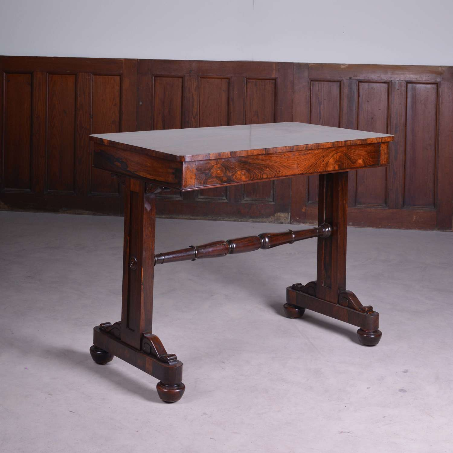 Regency rosewood centre table, or side table
