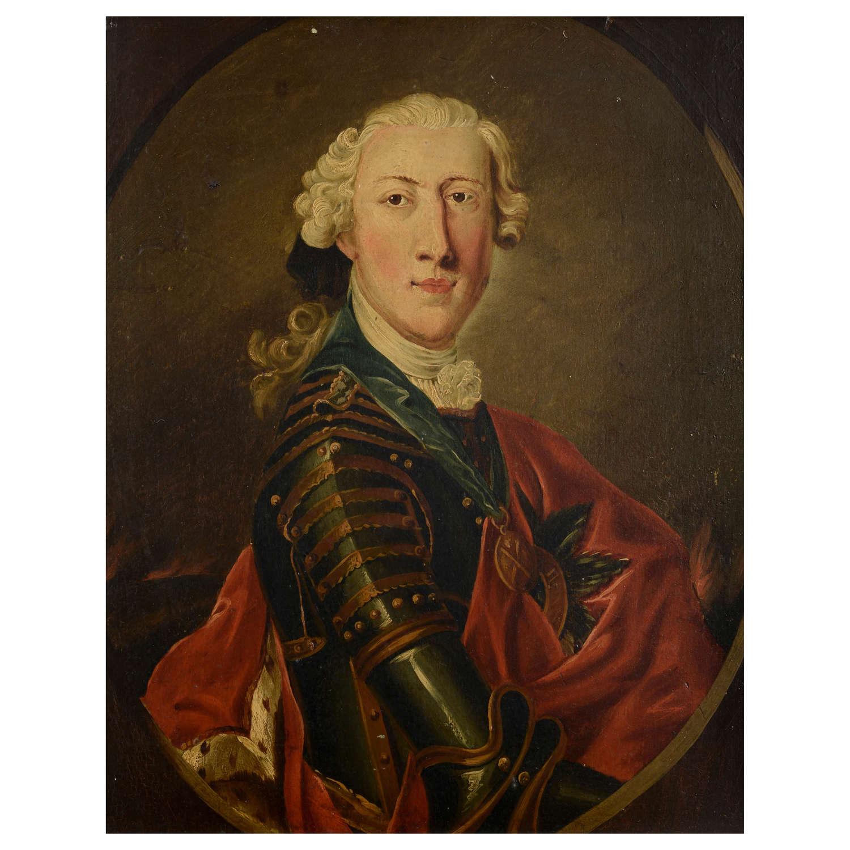 Portrait of Charles Edward Stuart the Young Pretender
